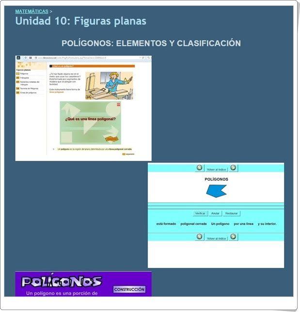 """Unidad 10 de Matemáticas de 3º de Primaria: """"Figuras planas"""""""