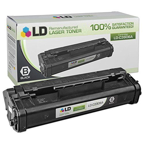 LD © Remanufactured Replacement for Hewlett Packard C3906A (HP 06A) Black Laser Toner Cartridge for LaserJet 5L, 5L xtra, 5L-FS, 6L, 6Lse, 6Lxi, 3100, 3100se, 3100xi, 3150, 3150se, & 3150xi