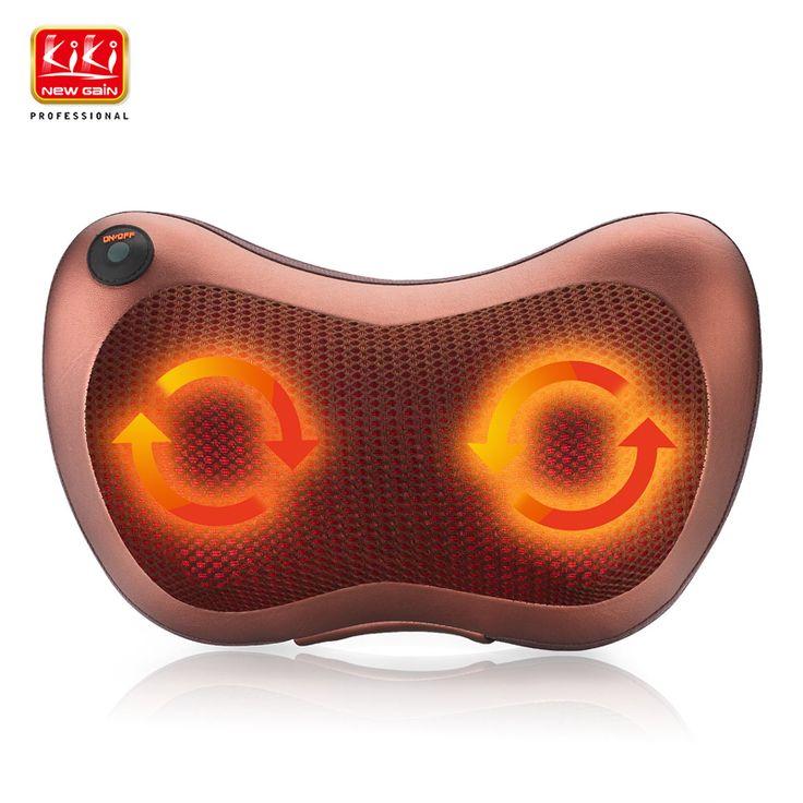 Rumah mobil dual-gunakan multifungsi hidangan pijat pijat mobil bantal lumbar serviks pijat kaki Inframerah Pemanasan tubuh massager