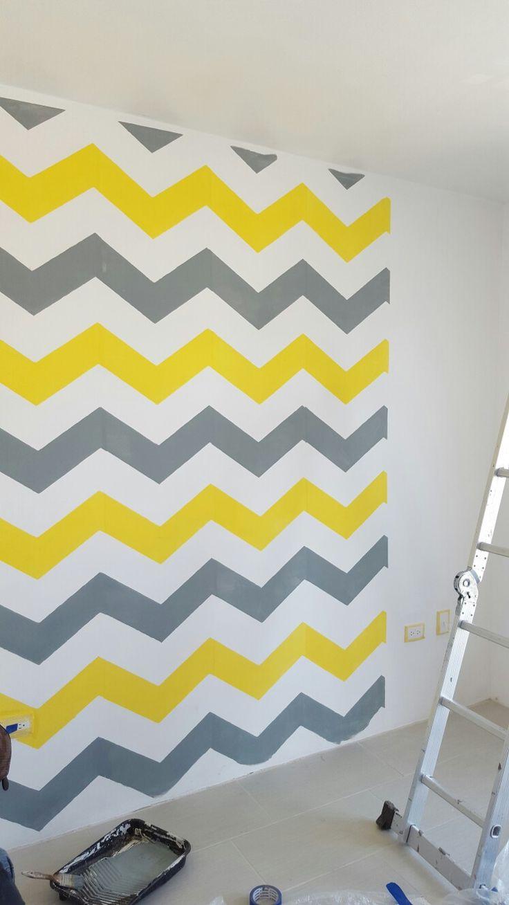 49 best diseños en pared con plantillas images on Pinterest | Accent ...