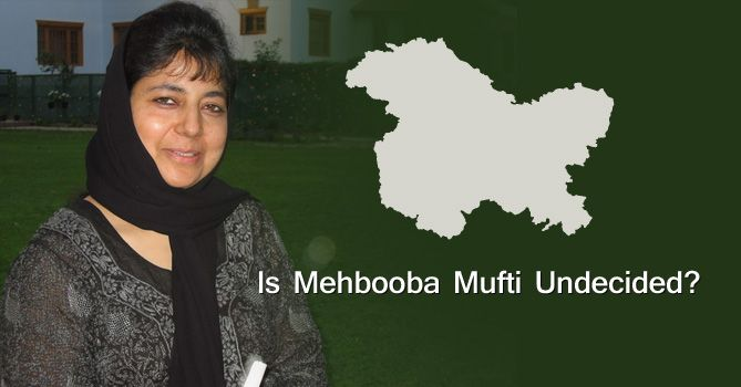 ammu & Kashmir continues to hang in political uncertainty, thanks to CM Mehbooba Mufti of PDP who is trying to extract maximum concessions from a hapless BJP as a pre-condition to forming the next coalition government. And she has been negotiating hard.  #Kashmir #JammuAndKashmir #MehboobaMufti #India #PDP #BJP #Politics