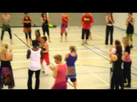 Afrikaanse dans workshop mei 2011  Today