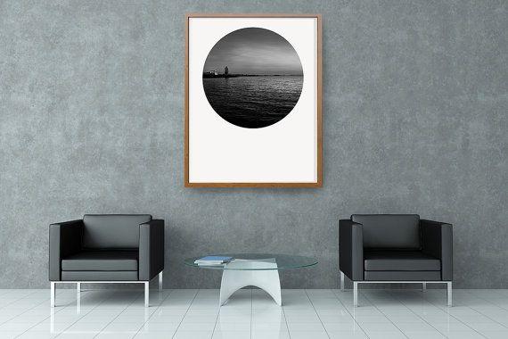 Landschaft Fotografie Download schwarz weiss von FotokunstVonAlex