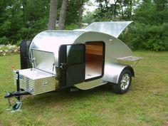 Little Fox Teardrop Camper - Little Fox campers classic teardrop ...