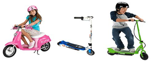 Best Electric Scooter For Kids read the reviews here: http://www.scooterselect.com/best-electric-scooter-for-kids/