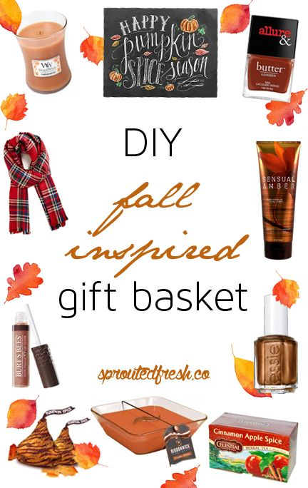 DIY Fall Inspired Gift Basket