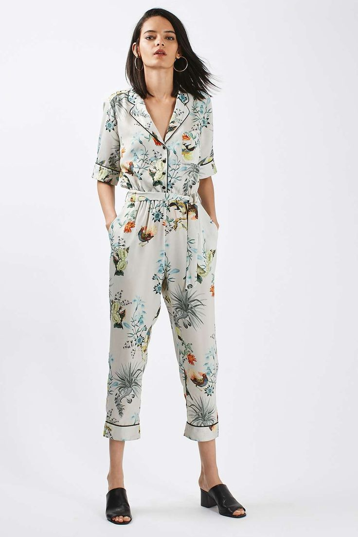 Oriental Print Jumpsuit - Playsuits & Jumpsuits - Clothing - Topshop