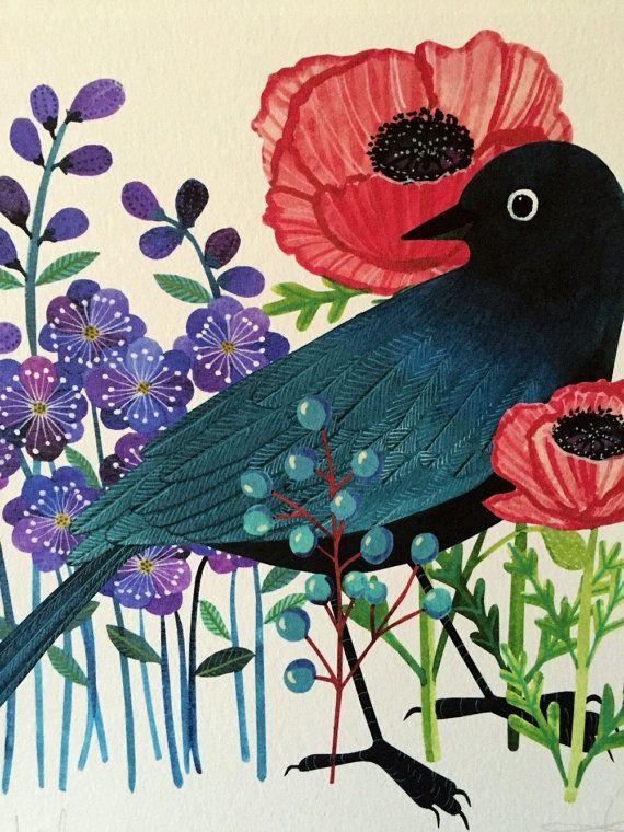 Etsy の Bowerbird by Geninne