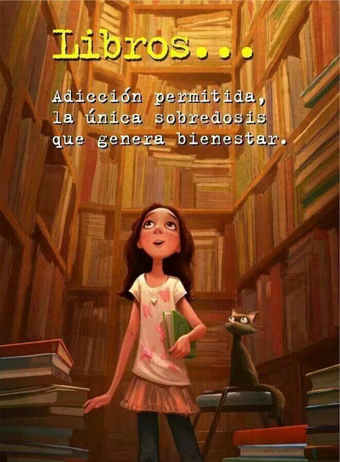 La lectura una vez que empiezas dificilmente la dejas! :)
