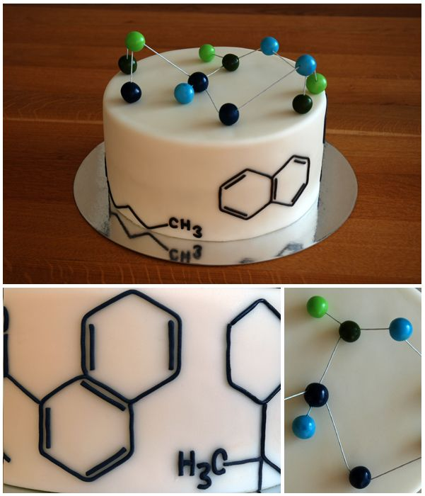 Chemistry Cake by deLucious More
