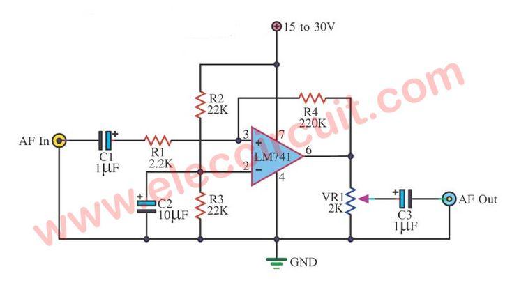 Universal Preamplifiers using | NE5532 | 741 | LM382 ...