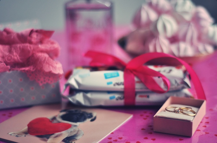 Pink is the Valentine color!