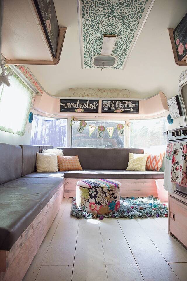 Camper Van Interior Ideas 54