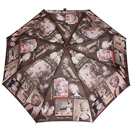 Asera Asera Brown Polyester Graphic Designed Three Fold Automatic Umbrella for Women # Brown # Printed # Polyester