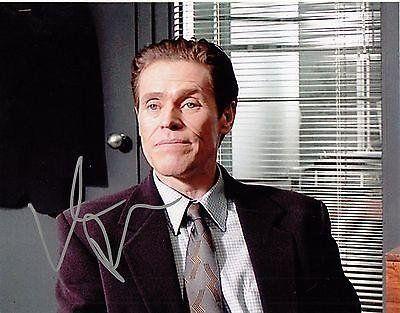 Willem Dafoe Signed 8x10 Photo w/COA Spider-man The Boondock Saints #2 - Autographed NFL Photos @ niftywarehouse.com #NiftyWarehouse #BoondockSaints #NormanReedus #Film #Movies #CultMovies #CultFilms