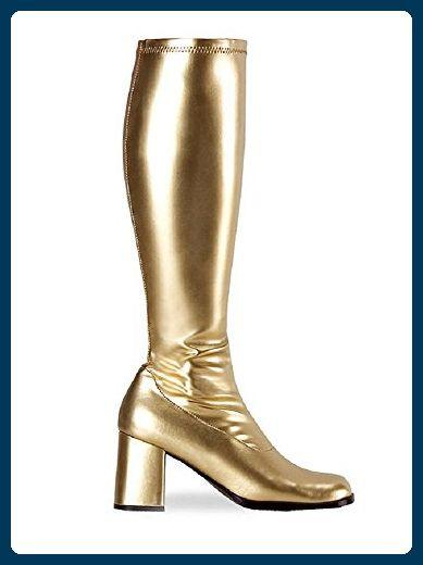 Pleaser Stiefel GOGO-300 - Gold matt Gr. 39 - Stiefel für frauen (*Partner-Link)