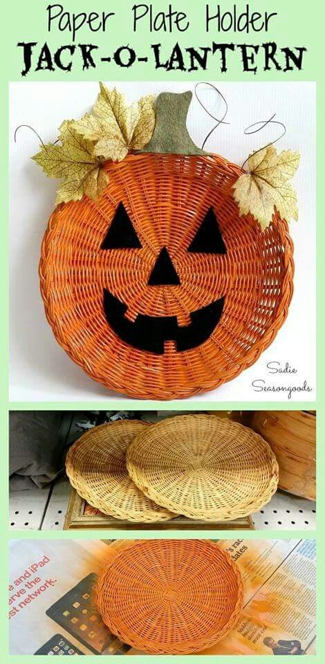 1275 best pumpkin crafts images on pinterest craft ideas for Easy cheap thanksgiving decorations
