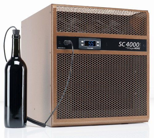 WhisperKOOL SC 4000i Wine Cellar Cooling Unit up to 1000 cu ft -- Visit the image link more details.