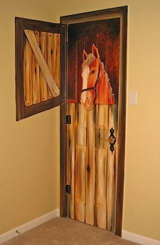 25 Best Ideas About Door Murals On Pinterest Door