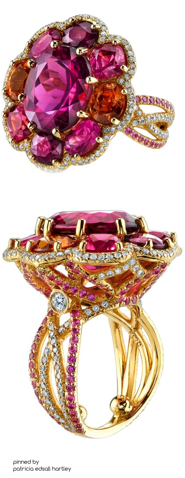 Flower Mosiac Ring