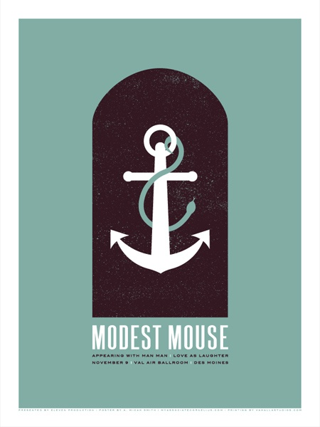 tasty modest mouse poster