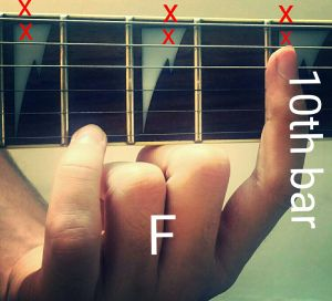 Learn 6 different ways you can play the F major chord. Not only this many other chords are there as well! http://musicterrene.com/2015/09/07/f-major-chord/