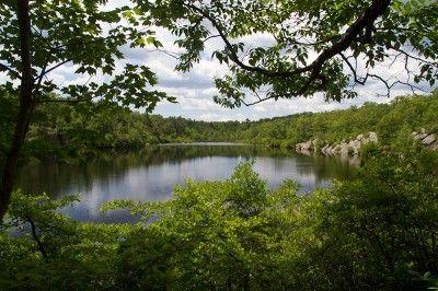 NJ Hiking - Terrace Pond North – Ridge Vistas and around the Pond