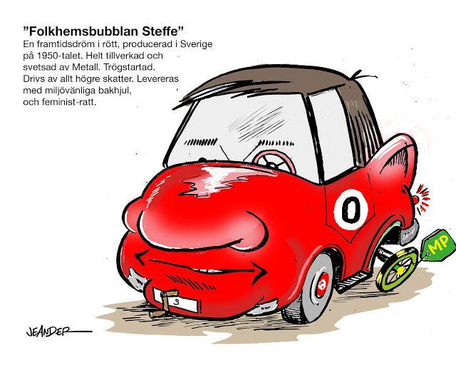 "JEANDERS BILDBLOGG: Dagens fordon. ""Folkhemsbubblan Steffe"""