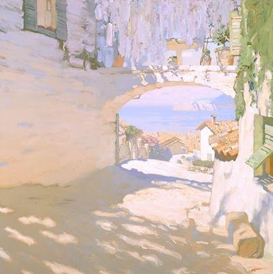 Seaside Painting by Russian Artist Bato Dugarzhapov