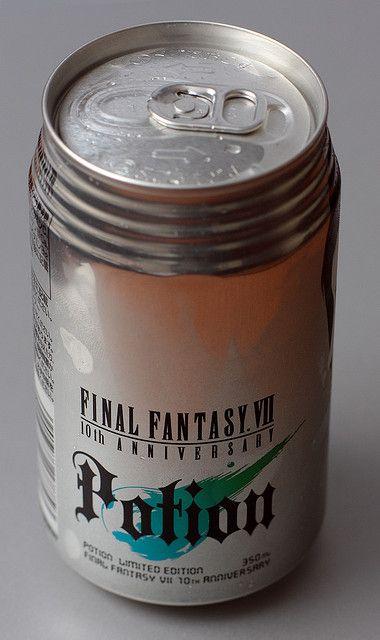 Final Fantasy 7 Potion | Flickr - Photo Sharing!