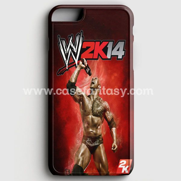 Wwe2K14 The Rock Gameplay iPhone 6 Plus/6S Plus Case | casefantasy