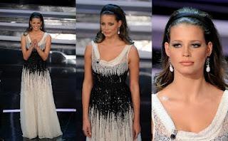 Sanremo 2012 Ivana Mrazova Moschino