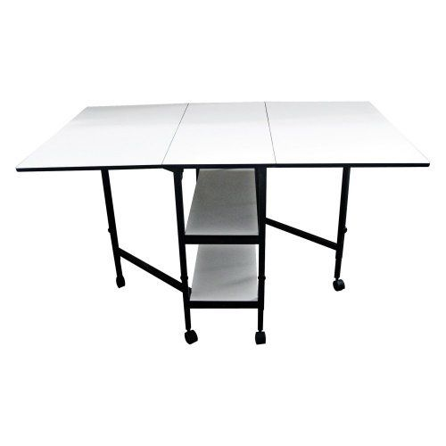 sullivans home hobby adjustable height foldable table 59. Black Bedroom Furniture Sets. Home Design Ideas
