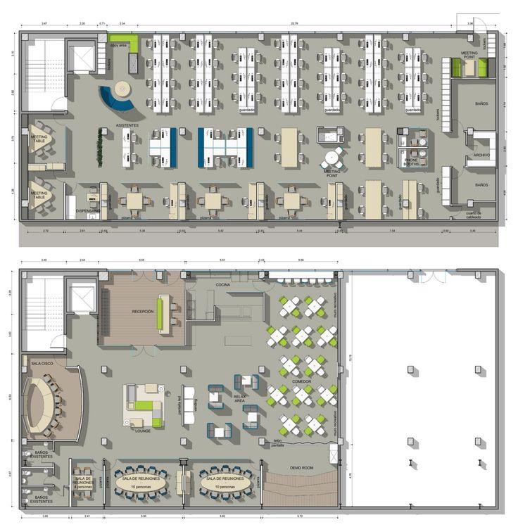 Los 10 dise os de oficinas m s cool office despacho for Diseno de oficinas modernas para abogados