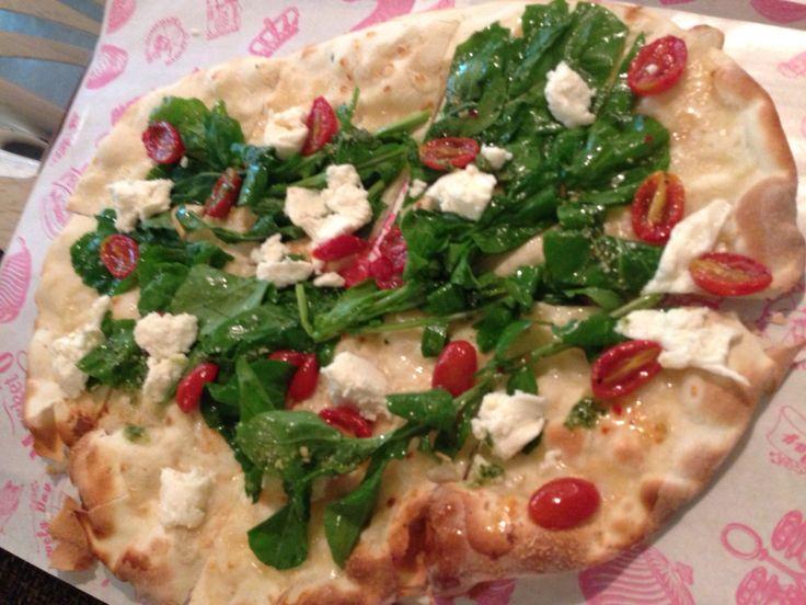 Pizza Bread(Spinach & Bacon)
