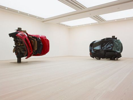 The Shape of Things to Come: New Sculpture installation view