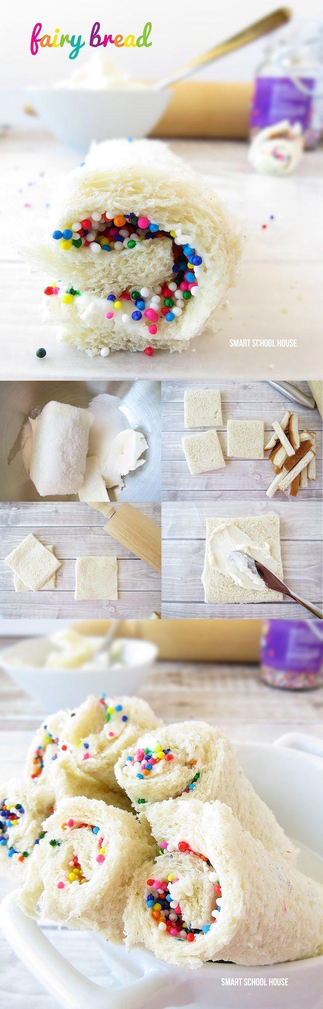 It's called Fairy Bread! This fun DIY recipe idea was such a hit!