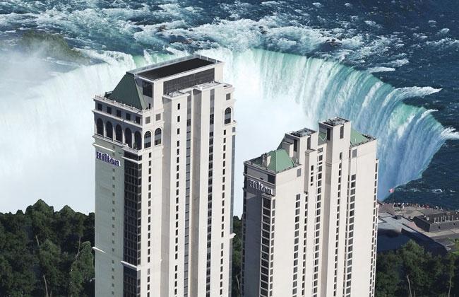 Niagara Falls Hotels - Niagara Falls Fallsview Hilton Hotel - Niagara Falls, Canada  I WANT TO GO!