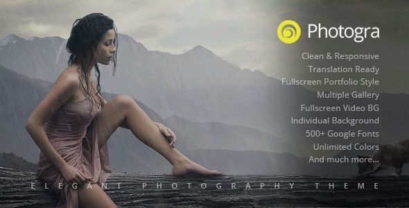 Photogra - Fullscreen Responsive WP Theme - https://themekeeper.com/item/wordpress/photogra-fullscreen-responsive-wp-theme | ThemeKeeper.com | Pinterest ...