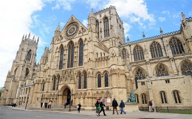 York Minster - Experts battling damp at one of Britain's most famous places of worship have come up with a novel way of protecting its walls – coating them in fat.