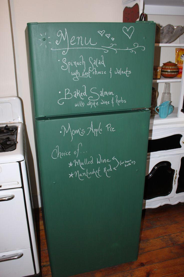25 best ideas about chalkboard paint refrigerator on pinterest chalkboard fridge painting. Black Bedroom Furniture Sets. Home Design Ideas