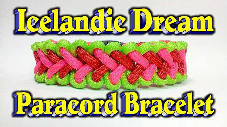 Paracord How To Make A The Icelandic Dream Bar With Buckles