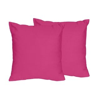 Shop for Sweet Jojo Designs Pink Throw Pillows (Set of 2). Get free shipping at Overstock.com - Your Online Home Decor Outlet Store! Get 5% in rewards with Club O!