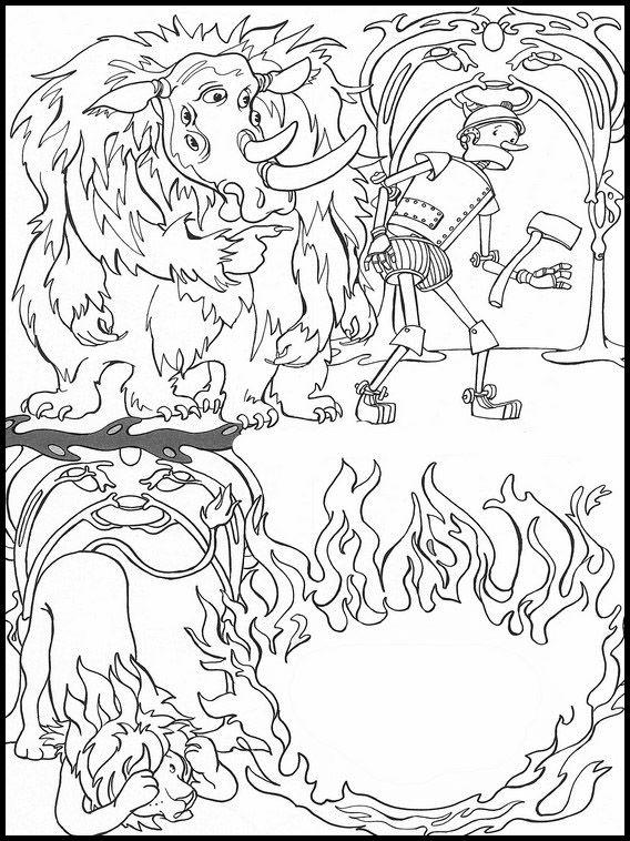 Der Zauberer Von Oz 7 Ausmalbilder Fur Kinder Malvorlagen Zum Ausdrucken Und Ausmalen Ausmalen Zauberer Von Oz Ausmalen Fur Kinder
