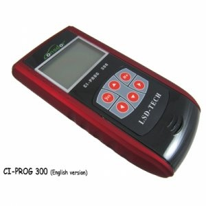 CI PROG 300 Remote and Car Chip Adapter English version