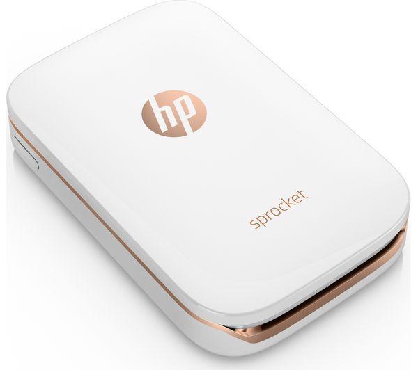 HP Sprocket Mobile Photo Printer - White