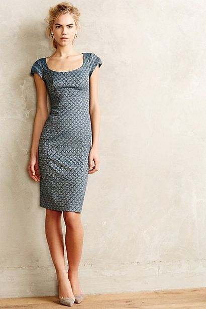 Yvette Jacquard Sheath - anthropologie.com #anthrofave