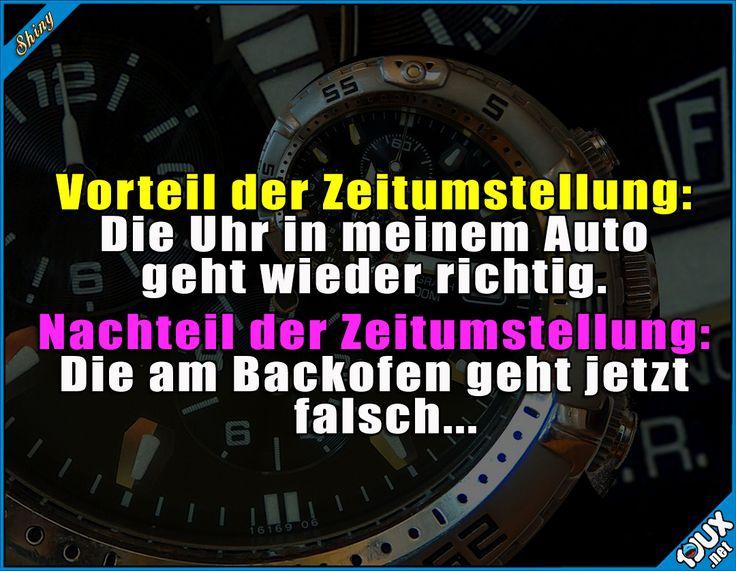 Ich bin zu faul zum Umstellen #Zeitumstellung #Uhrumstellung #Uhrzeit #Sommerzeit #lustig #Sprüche #Jodel #lachen