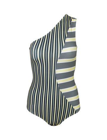 Freya Swimsuit Shoulder Yellow