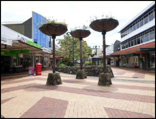 The Central Business District in Whangarei has a large range of shops and cafés restaurants and bars most main clothing brands are represented